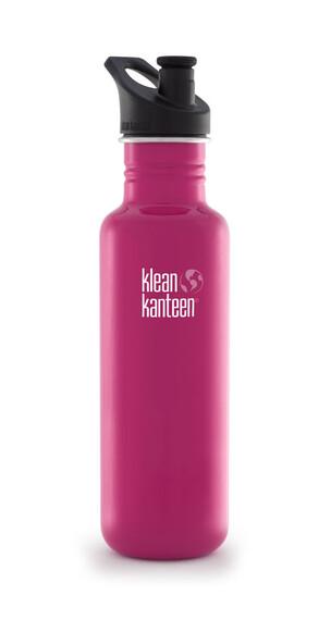 Klean Kanteen Classic - Gourde - avec bouchon de sport 800 ml rose